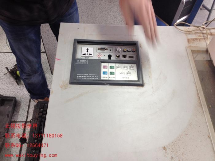学校电脑教室装投影机