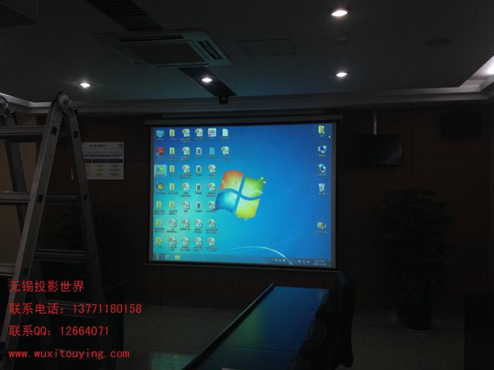 无锡外资企业会议室投影机安装